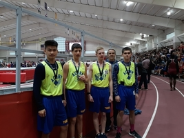 Acorn Sr. Boys Track Placed 3rd @ State Indoors