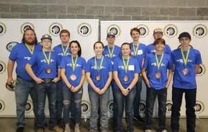 Acorn Archery Placed 5th in State Tournament