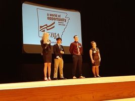 Keagan Jennings and Macy Pyron Elected for FBLA District Office