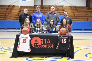 ****Signing Day for Sophie Jackson and Lexi Powell***