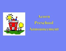 Acorn Preschool Presents the Class of 2020