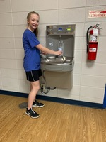 Acorn High School Received Grant for Water Bottle Filling Station