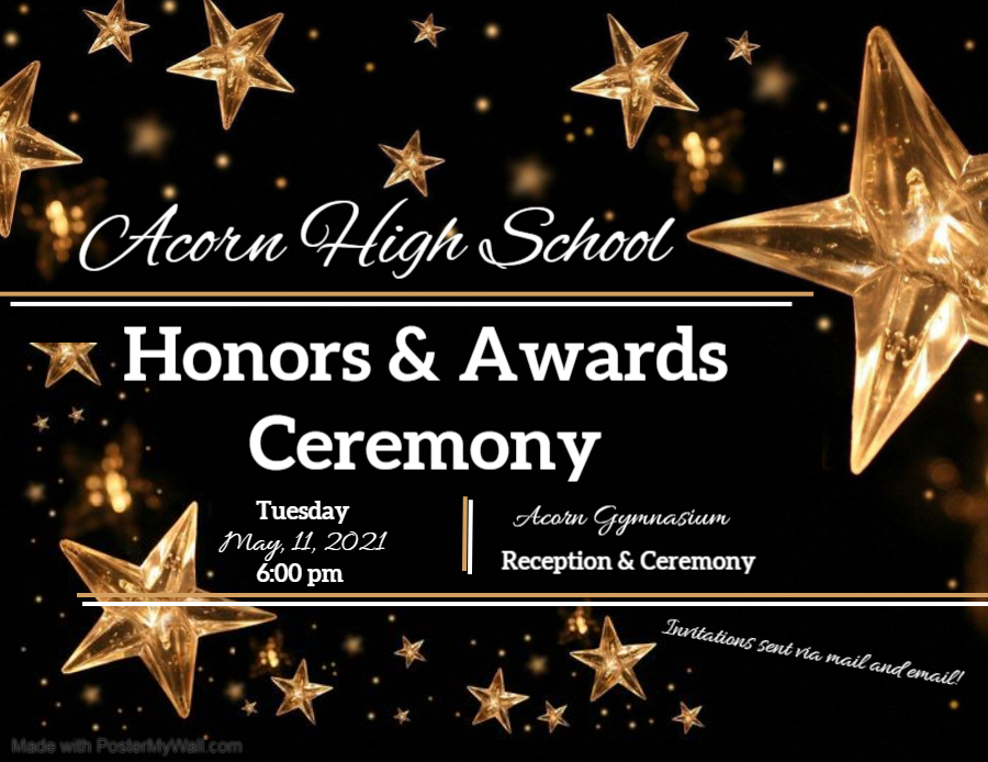 AHS 2021 Awards & Honors Ceremony Announcement