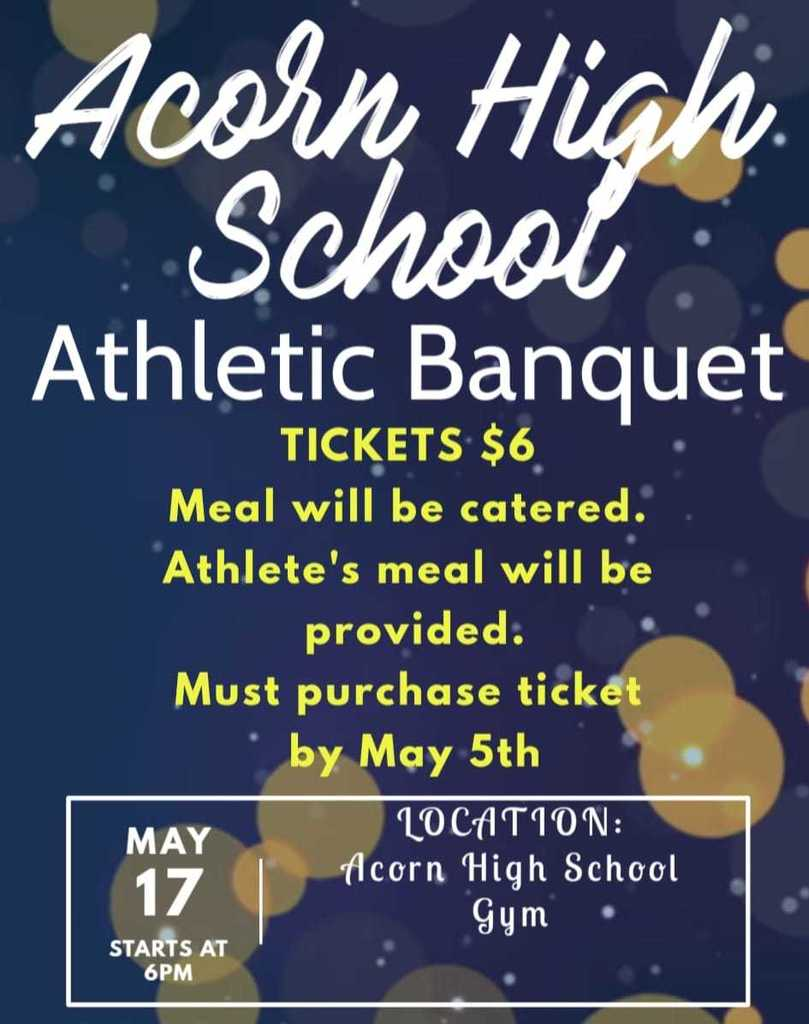 Athletic Banquet Info