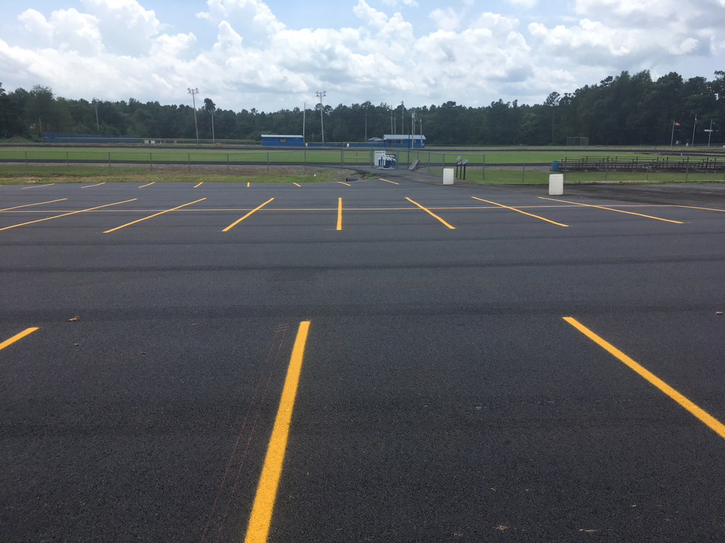 New student parking lot