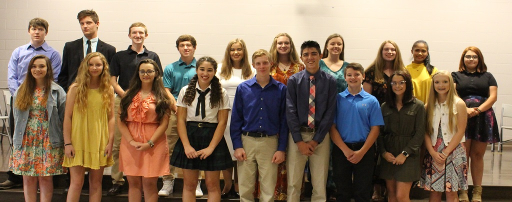 Acorn National Honor Society inducts new members.
