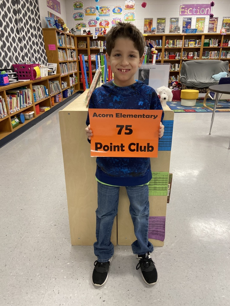 ~Acorn Elementary AR Point Club~
