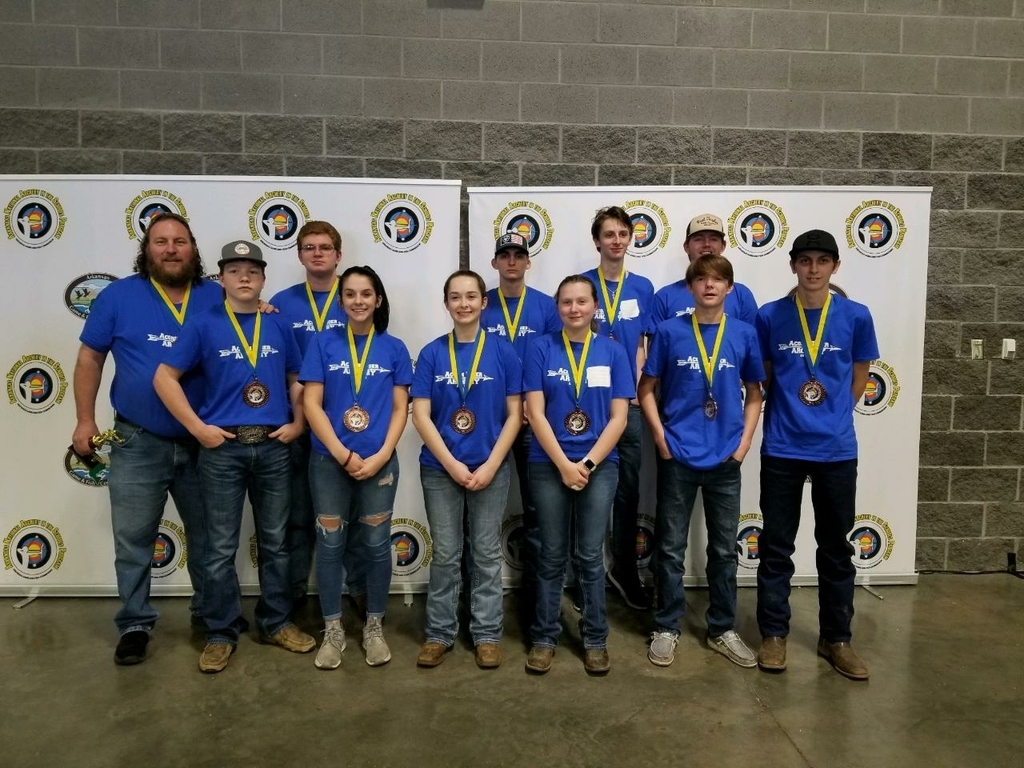 Acorn High School Archery team - 5th place