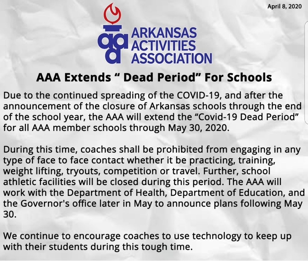"AAA extends ""Dead Days"" for schools"