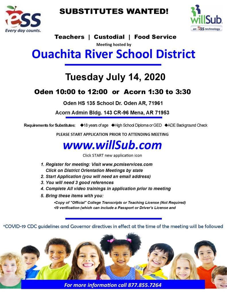 ORSD Willsub Flyer