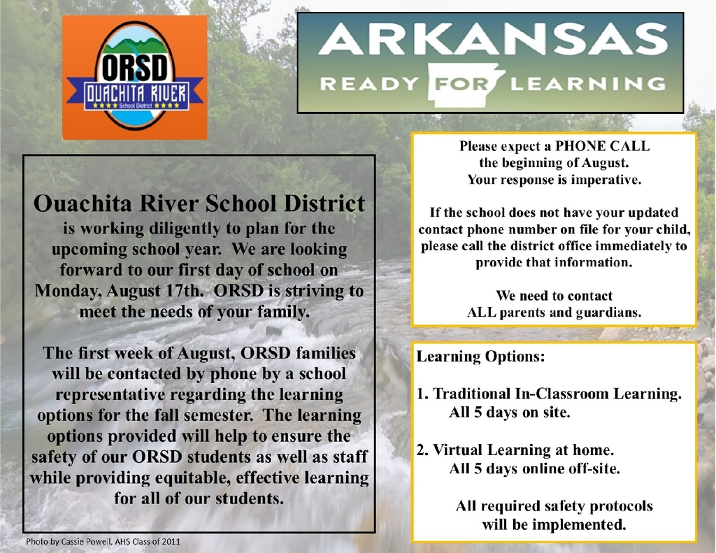 ORSD Ready For Learning